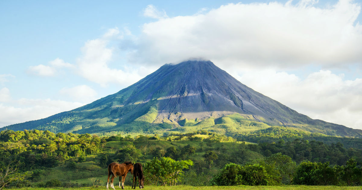 Volcán Arenal, Costa Rica