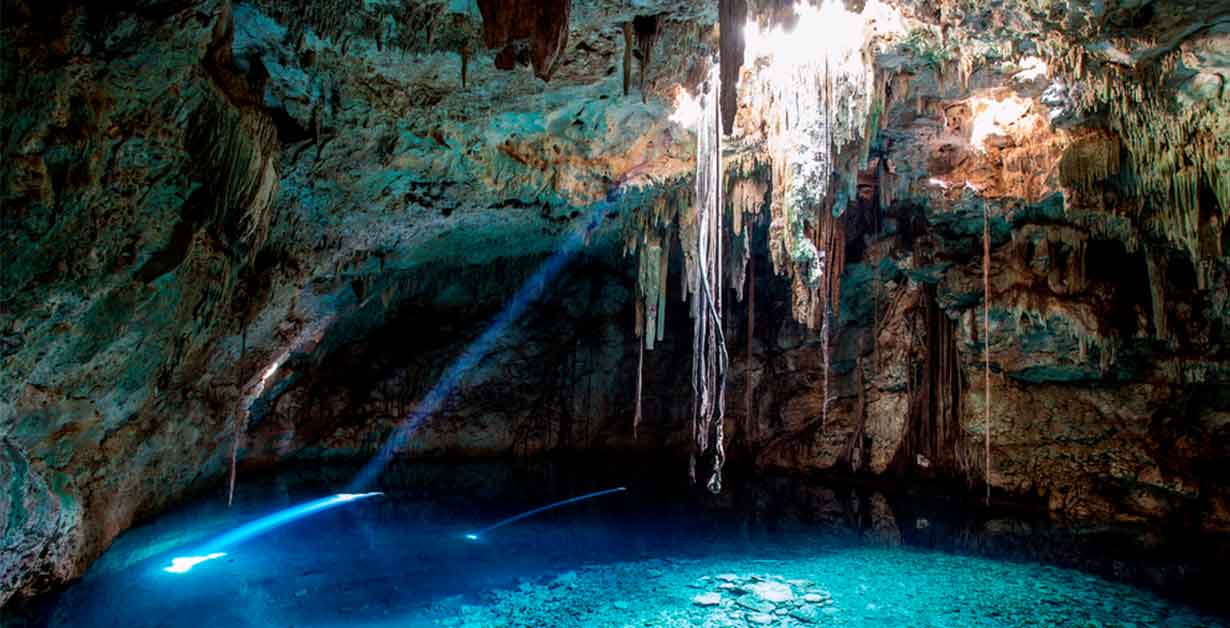 cenotes mayan route