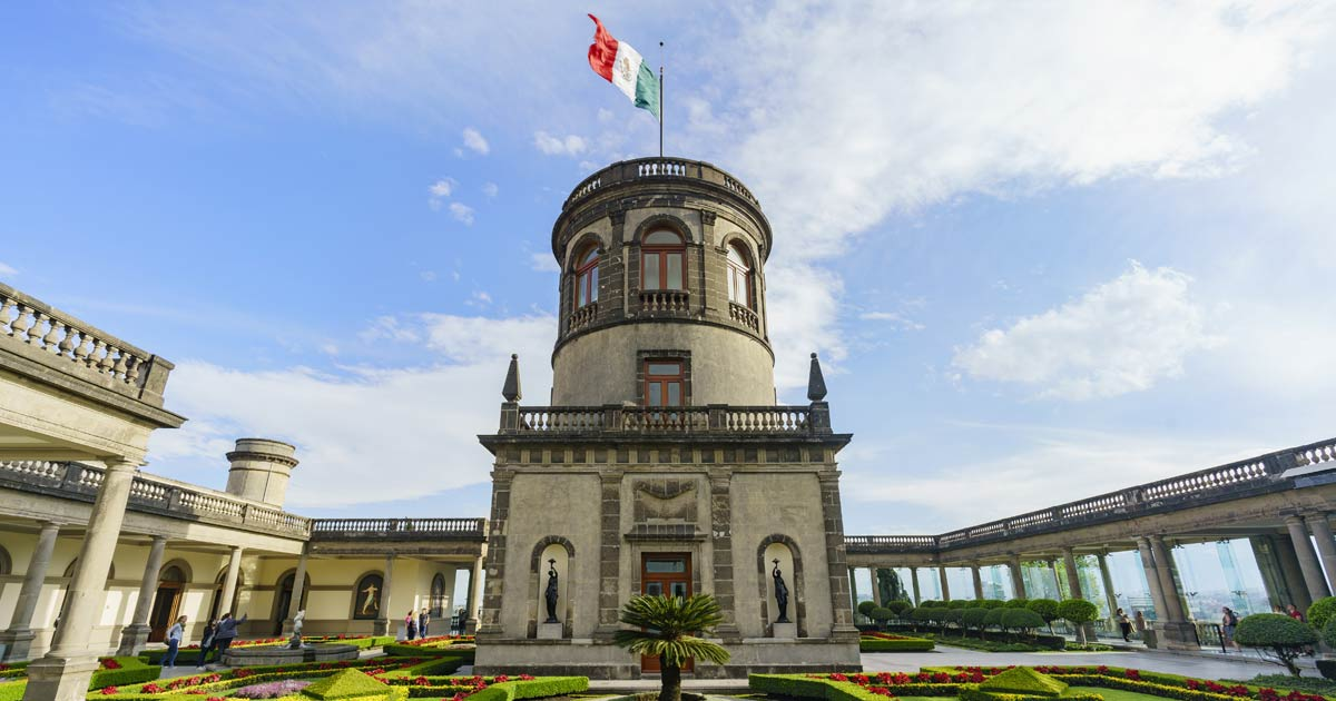 Mexico City's Chapultepec: the only castle in Latin America