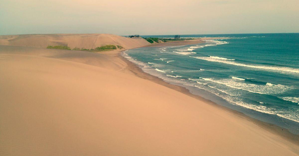 chachalacas, de las playas de Veracruz más visitadas