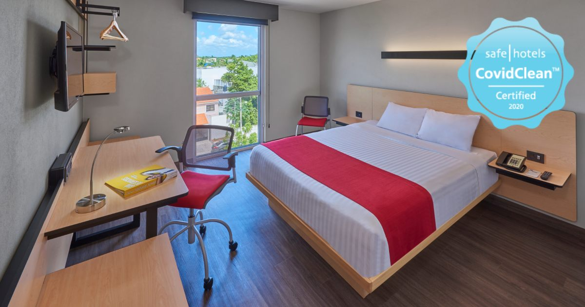 hoteles city express certificado safe hotels covid clean