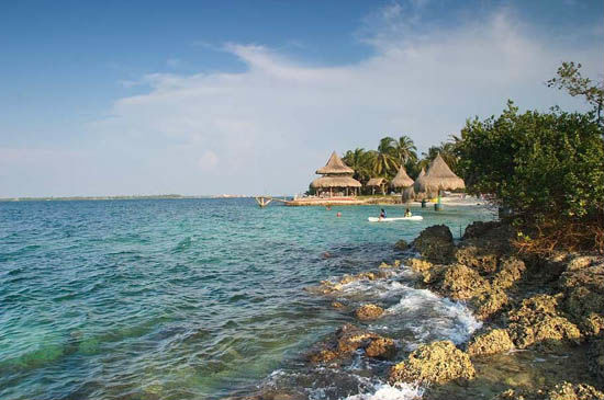 Beach destinations in the Colombian Caribbean