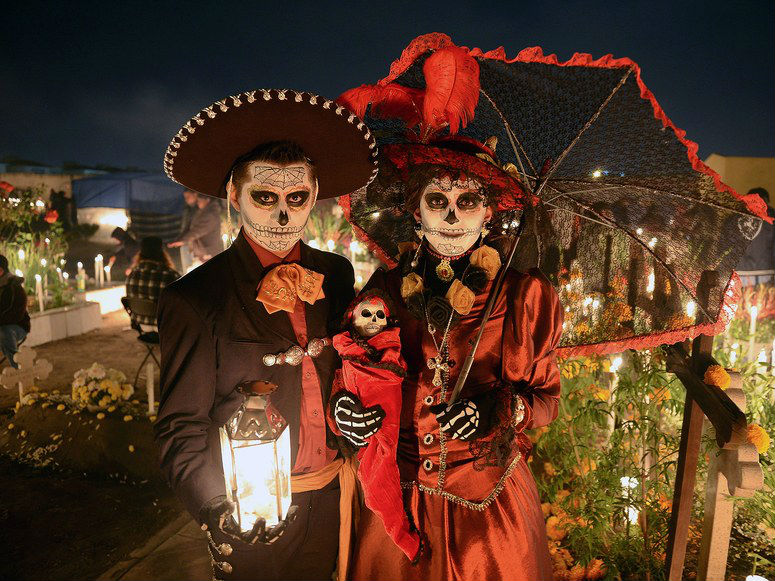 Day of the dead in México