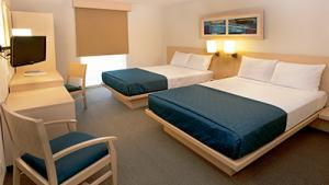 Double, 2 double beds
