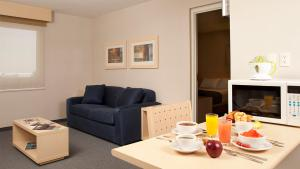 Junior suite double, 2 full size beds and 1 sofa bed