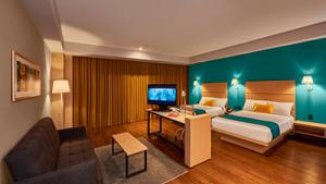 Suite estudio, 2 full size beds and 1 sofa bed